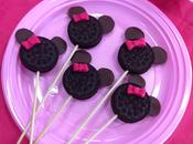 Minnie cookie pops