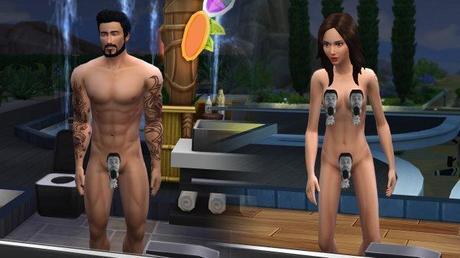 Sempre più peli pubici in The Sims 4 grazie ai modder