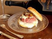 Hamburger Salciccia Mora Romagnola Crescenza Porro Caramellato Speziato