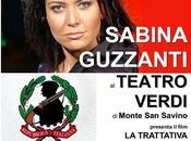 Sabina Guzzanti ospite Teatro Verdi Monte Savino
