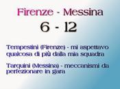 Firenze-Messina, commenti protagonisti