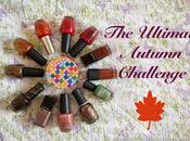Ultimate Autumn Challenge: miei smalti autunnali