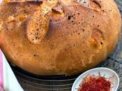 Pane dolce allo zafferano Navelli polvere liquirizia