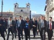 Ricostruzione corte d'Appello, ministro Orlando all'Aquila