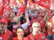 Cgil prevede un'alta adesione allo sciopero ottobre. stima presenza milione persone