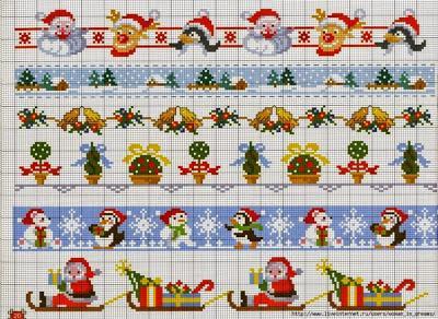 Piccolo Schemi Punto Croce Natale.Piccoli E Facili Schemi A Punto Croce Dedicati Al Natale Paperblog