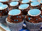 Chocolate cupcakes: cupcake cioccolato cresima