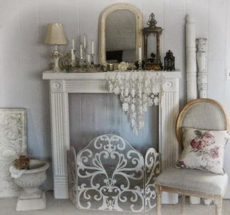 Una casa romantica e shabby chic paperblog - Casa romantica shabby chic ...