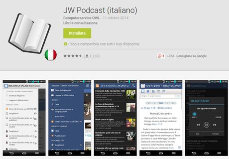 JW.ORG: tutte le applicazioni Android per non perdervi gli aggiornamenti del nostro sito ufficiale