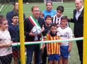 """Luino, inaugurato """"Centro Sportivo Betulle"""" nuovo campo calcio"""