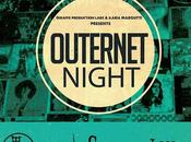 OUTERNET NIGHT notte nella CasermArcheologica cura Giraffe Production Labs Ilaria Margutti