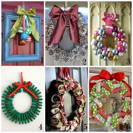 Ghirlande di natale fai da te 12 tutorial semplici e - Decorazioni natalizie fatte a mano per bambini ...