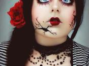 Halloween make series: Broken doll
