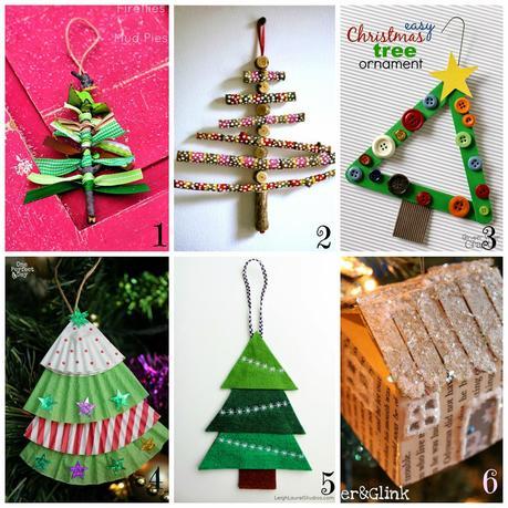 Lavoretti Di Natale Semplici Tutorial.Decorazioni Per L Albero Di Natale Fai Da Te 12 Tutorial