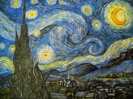 Notte stellata van gogh su tela 60x70 paperblog for La notte stellata vincent van gogh