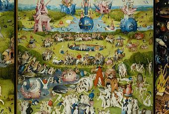 Hieronymus bosch il giardino delle delizie paperblog - Il giardino delle delizie bosch ...
