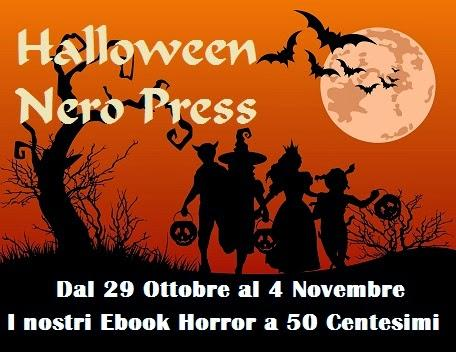 Offerte Halloween Nero Press: ebook horror a 50 centesimi