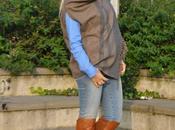 Outfit: jeans stivali mantella