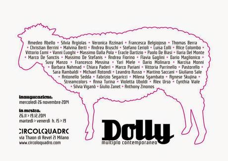 DOLLY multiplo contemporaneo - da Circoloquadro a Milano