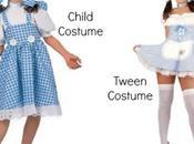 Sessualizzazione fanciullo: Costumi Halloween sexy bambini anni