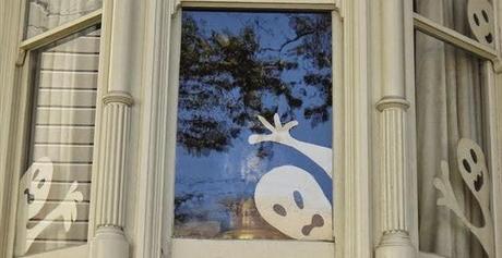 Siamo gia 39 arrivati ad halloween paperblog for Decorazioni halloween finestra