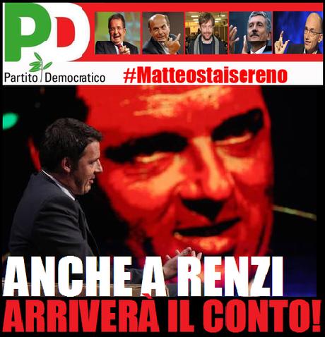 Presto gli italiani presenteranno il conto pure a Renzi!