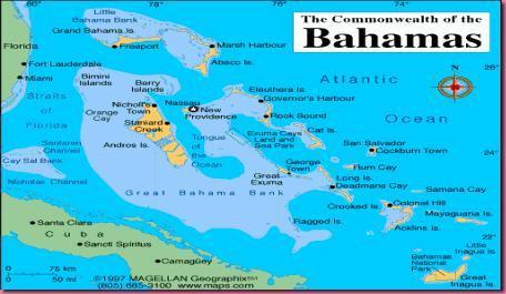 Foto Cartina Bahamas 2