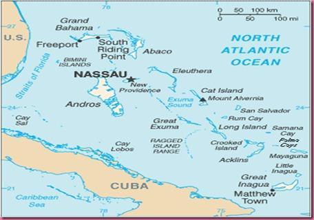 Foto Cartina Bahamas