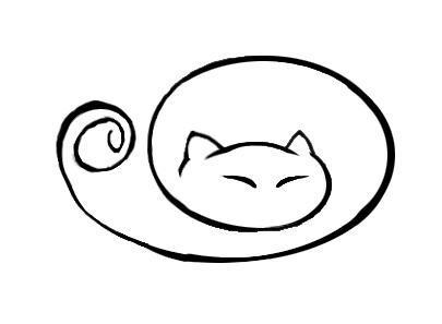 sleeping_cat_tattoo_by_ivvi_qol-d48plnf
