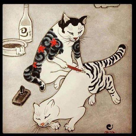 Cats-Tattoo