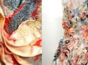 """Wound"" Marit Fujiwara Sculptures Wear"