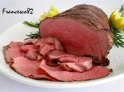 Roast-beef cotto bassa temperatura nell' abbattitore Fresco Irinox