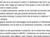 Francesco Facchinetti papà, nato Leone!
