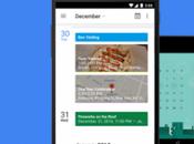 Google aggiorna l'app Calendar Material Design