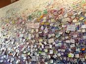 #azonzotour VERONA. ancora spazio l'amore scritto bigliettini carta?