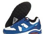 Nike Command (GS) Schuhe white-photo blue-hyper cobalt-team orange-