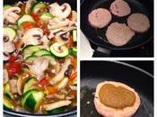 Svizzere pollo verdure salsina