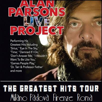 Alan Parsons arriva a marzo 2015 con The Greatest Hits Tour.