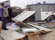 Siracusa: danni causati ciclone, distrutto cantiere Punta Cugno