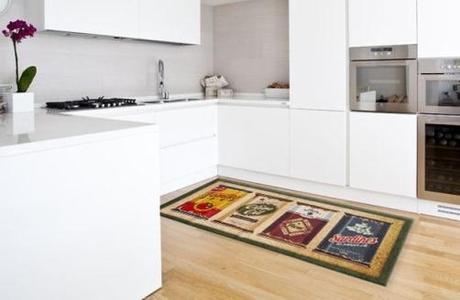 passatoie cucina disegno geometrici : Idee per coprire il pavimento - Paperblog