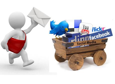 mailing list usando i social media