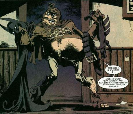 Sixpack, da Hitman n. 50, p. 9. © dc Comics.