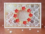 Biglietto Natalizio Ghirlanda Christmas wearth Card collab DaWanda