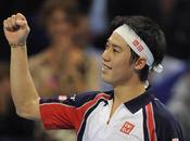 attesa Federer, Nishikori batte Murray