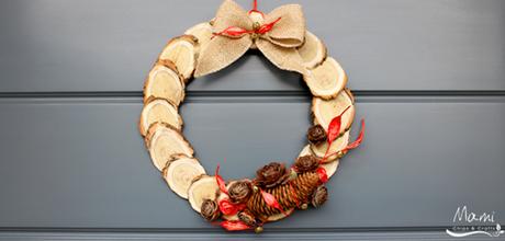 Ghirlanda di natale fai da te paperblog - Ghirlanda natalizia per porta fai da te ...