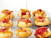 Cupcakes rovesciati mango lamponi