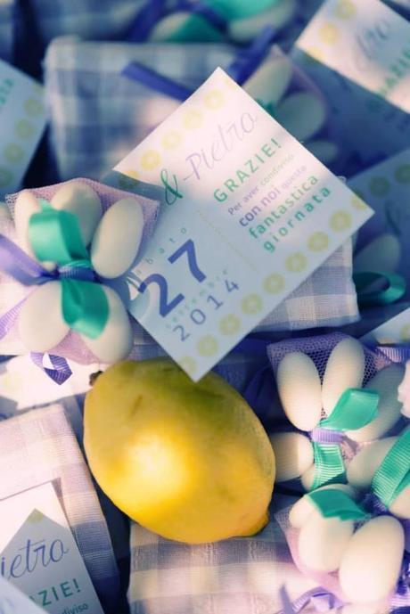 Real wedding in lavanda menta e limone {Alice+Pietro}