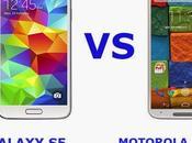 Samsung Galaxy Motorola Moto 2014: video confronto italiano