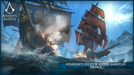 Assassin's Creed Rogue - Le battaglie navali in video
