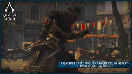 Assassin's Creed Rogue - Trailer del gameplay sul Cacciatore di Assassini